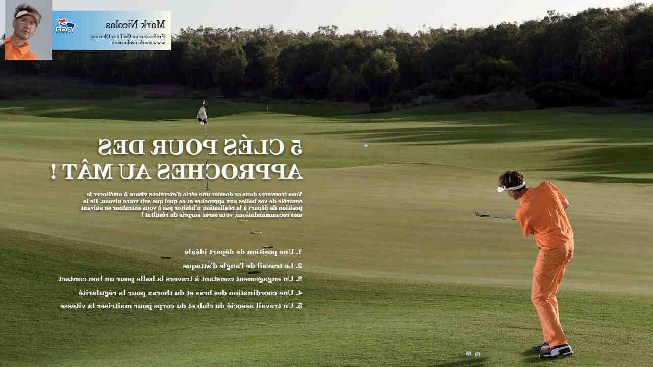 Comment se joue le golf?