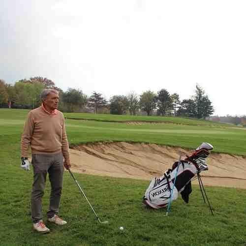 Comment utilisez-vous un hachoir de golf?