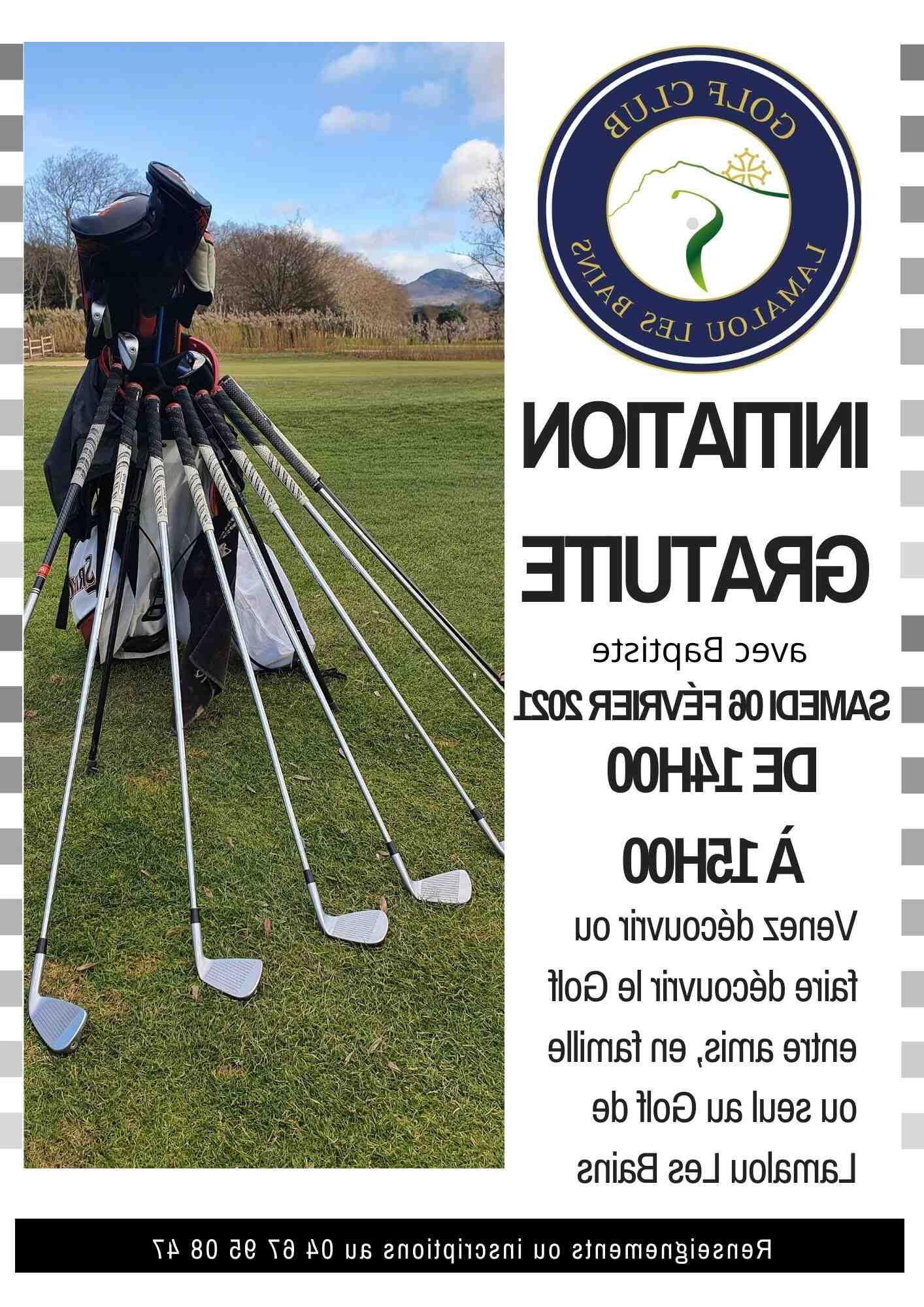 Où jouer au golf en hiver?
