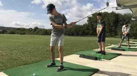 Comment tirer directement au golf?