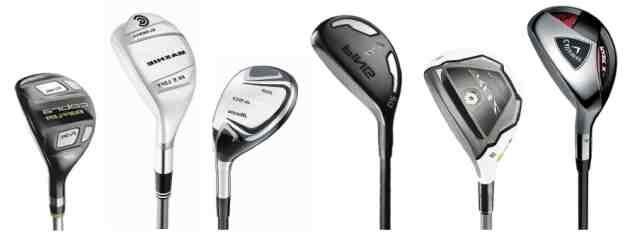 Quel fer est utilisé au golf?